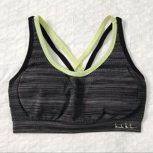 Nicole Miller grey sports bra